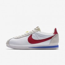 Nike Classic Cortez (Men's Sizing) White/Varsity Royal/Varsity Red unisex Shoes