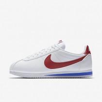 Nike Classic Cortez Leather White/Varsity Royal/Varsity Red unisex Shoes