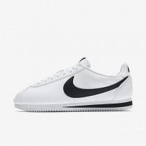 Nike Classic Cortez Leather White/Black unisex Shoes