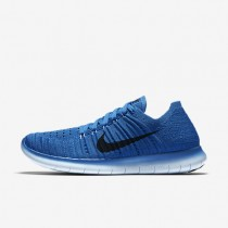 Nike Free RN Flyknit Star Blue/College Blue/Bluecap/Black Womens Running Shoes