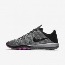 Nike Free TR 6 Metallic Metallic Silver/Hyper Violet/Black Womens Training Shoes