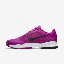 Nike Court Air Zoom Ultra Hyper Violet/Black/White Womens Tennis Shoes
