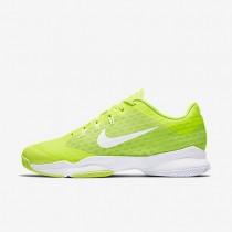 Nike Court Air Zoom Ultra Volt/White Womens Tennis Shoes
