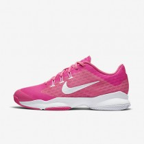 Nike Court Air Zoom Ultra Pink Blast/White Womens Tennis Shoes