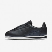 Nike Classic Cortez Leather Metallic Hematite/Summit White/Metallic Hematite Womens Shoes