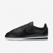 Nike Classic Cortez Leather Black/Metallic Red Bronze/White/Black Womens Shoes
