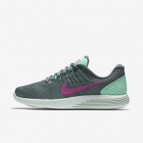 Nike LunarGlide 8 Green Glow/Hasta/Cannon/Fire Pink Womens Running Shoes