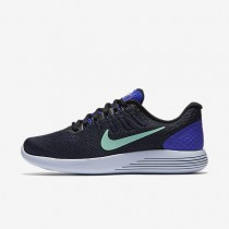 Nike LunarGlide 8 Persian Violet/Black/Dark Purple Dust/Green Glow Womens Running Shoes