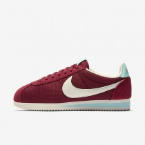 Nike Classic Cortez Textile Noble Red/Hyper Turquoise/Sail Womens Shoes