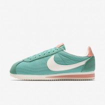 Nike Classic Cortez Textile Washed Teal/Atomic Pink/Sail/Sail Womens Shoes