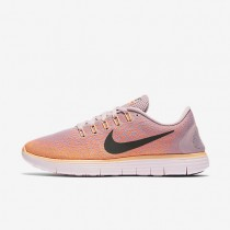 Nike Free RN Distance Plum Fog/Bright Mango/Peach Cream/Black Womens Running Shoes