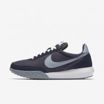 Nike Roshe Waffle Racer Premium NM Midnight Navy/White/University Red/Blue Grey Womens Shoes
