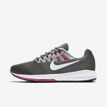 Nike Air Zoom Structure 20 Anthracite/Wolf Grey/Fire Pink/White Womens Running Shoes