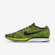 Nike Flyknit Racer Volt/Sequoia/Black Womens Running Shoes