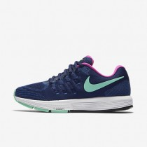 Nike Air Zoom Vomero 11 Loyal Blue/Fountain Blue/White/Green Glow Womens Running Shoes