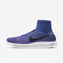 Nike LunarEpic Flyknit Persian Violet/Gamma Blue/Vivid Purple/Black Womens Running Shoes