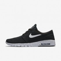 Nike SB Stefan Janoski Max L Black/White Mens Skateboarding Shoes