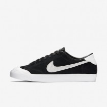Nike SB Zoom All Court CK Black/White Mens Skateboarding Shoes