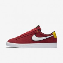 Nike SB Blazer Low GT University Red/Black/University Gold/White Mens Skateboarding Shoes