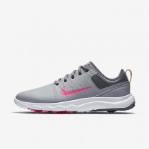 Nike FI Impact 2 Wolf Grey/Cool Grey/White/Pink Blast Womens Golf Shoes