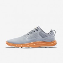 Nike FI Impact 2 Pure Platinum/Wolf Grey/Bright Citrus/White Womens Golf Shoes