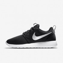 Nike Roshe One Black/White/Metallic Platinum Womens Shoes