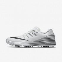 Nike Lunar Control 4 White/Wolf Grey/Black Womens Golf Shoes