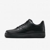 Nike Air Force 1 07 Black/Black Womens Shoes