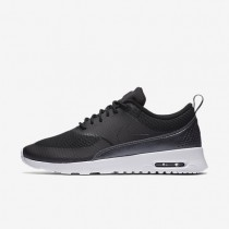 Nike Air Max Thea Textile Black/White/Metallic Hematite/Black Womens Shoes