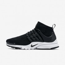 Nike Air Presto Ultra Flyknit Black/White/Black Womens Shoes