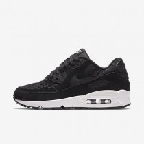 Nike Air Max 90 Premium Black/Ivory/Black Womens Shoes