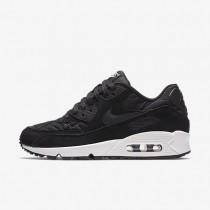 Nike Air Max 90 Premium Black/Ivory/Black Womens Shoes