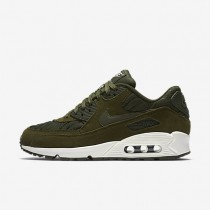 Nike Air Max 90 Premium Dark Loden/Ivory/Dark Loden Womens Shoes