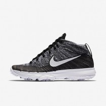 Nike Flyknit Chukka Black/White Womens Golf Shoes
