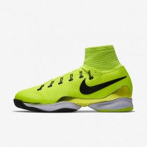 Nike Court Air Zoom Ultrafly Clay Volt/Dark Grey/White/Black unisex Tennis Shoes