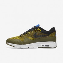 Nike Air Max 1 Ultra Flyknit Olive/Game Royal/Bright Citron/Black Womens Shoes