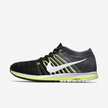 Nike Flyknit Streak Black/Dark Grey/Volt/White Womens Running Shoes