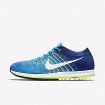 Nike Zoom Flyknit Streak Blue Glow/Deep Royal Blue/Ghost Green/White unisex Running Shoes