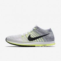 Nike Zoom Flyknit Streak White/Volt/Pure Platinum/Black unisex Running Shoes
