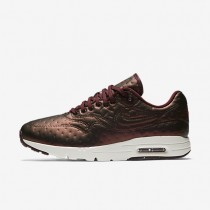 Nike Air Max 1 Ultra Premium Jacquard Metallic Mahogany/Dark Cayenne/Ivory/Night Maroon Womens Shoes