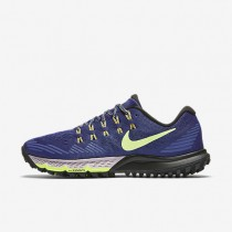 Nike Air Zoom Terra Kiger 3 Dark Purple Dust/Bright Mango/Black/Ghost Green Womens Running Shoes