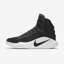 Nike Hyperdunk 2016 High (Team) Black/White/Black Womens Basketball Shoes