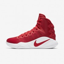 Nike Hyperdunk 2016 High (Team) University Red/White/University Red Womens Basketball Shoes