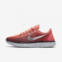 Nike Free RN Distance Shield Bright Mango/Purple Shade/Purple Dynasty/Metallic Silver Womens Running Shoes