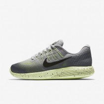 Nike LunarGlide 8 Shield Wolf Grey/Cool Grey/Volt/Black Womens Running Shoes