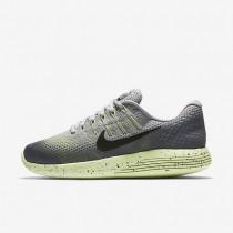Nike LunarGlide 8 Shield Wolf Grey/Cool Grey/Volt/Black Womens Running Shoes