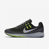 Nike Air Zoom Structure 20 Shield Black/Dark Grey/Wolf Grey/Metallic Silver Womens Running Shoes