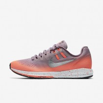 Nike Air Zoom Structure 20 Shield Plum Fog/Bright Mango/Purple Shade/Metallic Silver Womens Running Shoes