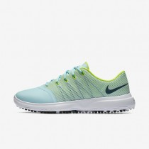 Nike Lunar Empress 2 Copa/Volt/White/Midnight Turquoise Womens Golf Shoes