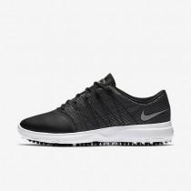 Nike Lunar Empress 2 Black/White/Metallic Silver Womens Golf Shoes